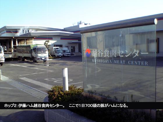 伊藤ハム越谷食肉センター